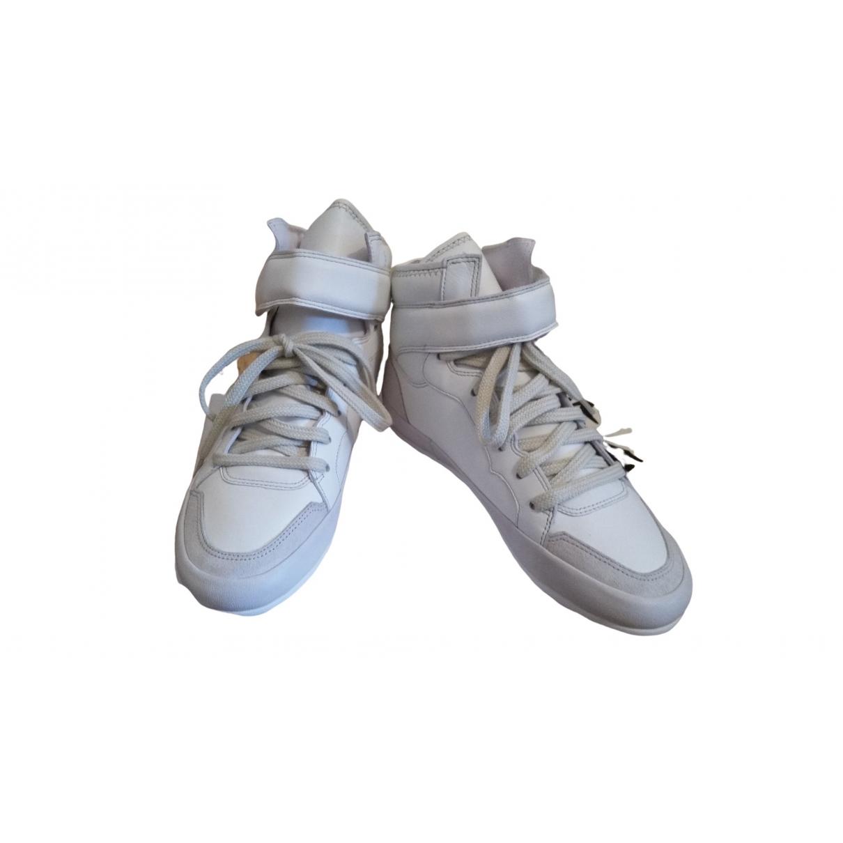 Isabel Marant \N Sneakers in  Weiss Leder