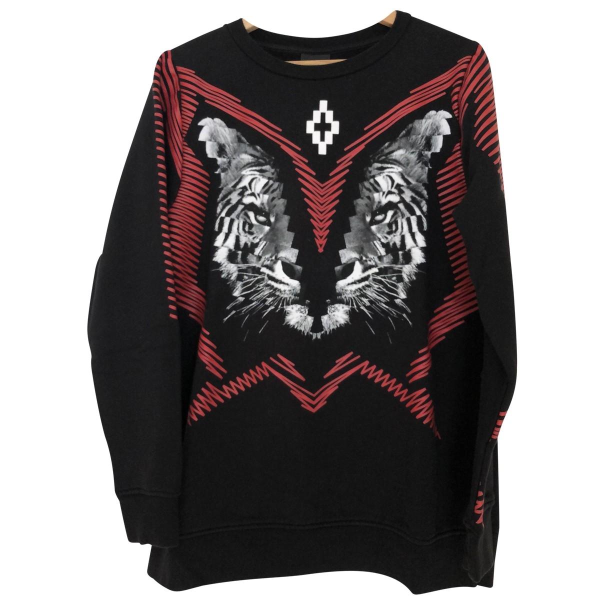 Marcelo Burlon \N Black Cotton Knitwear & Sweatshirts for Men S International