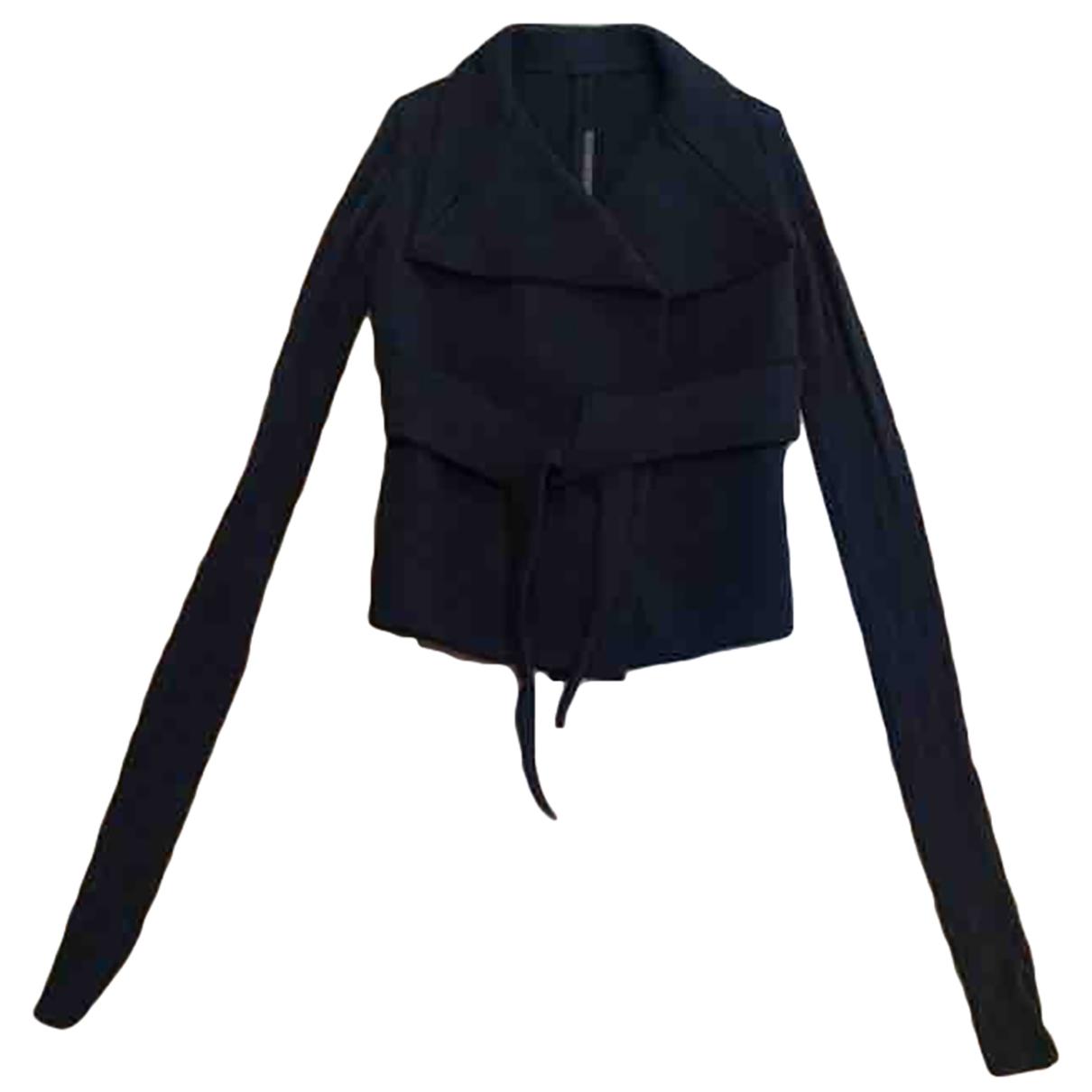 Rick Owens \N Anthracite jacket for Women 36 FR