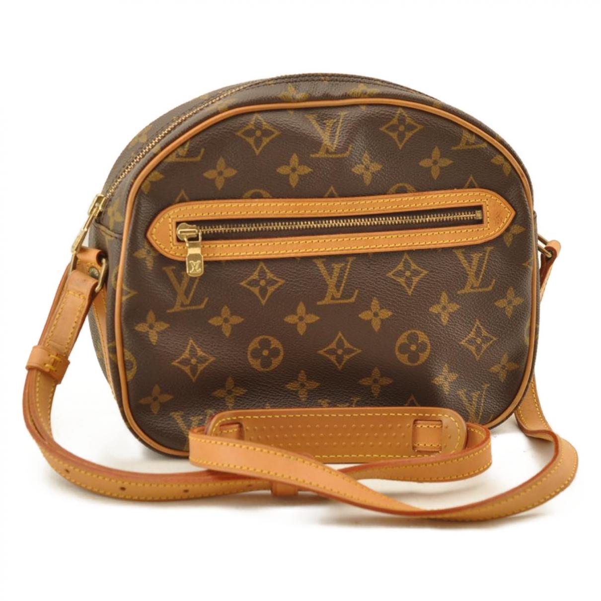 Louis Vuitton - Sac a main Senlis  pour femme en toile - marron