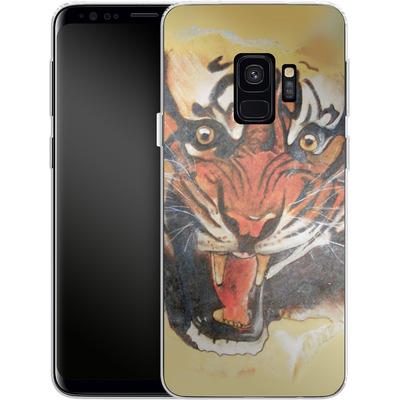 Samsung Galaxy S9 Silikon Handyhuelle - Tiger von Kaitlyn Parker