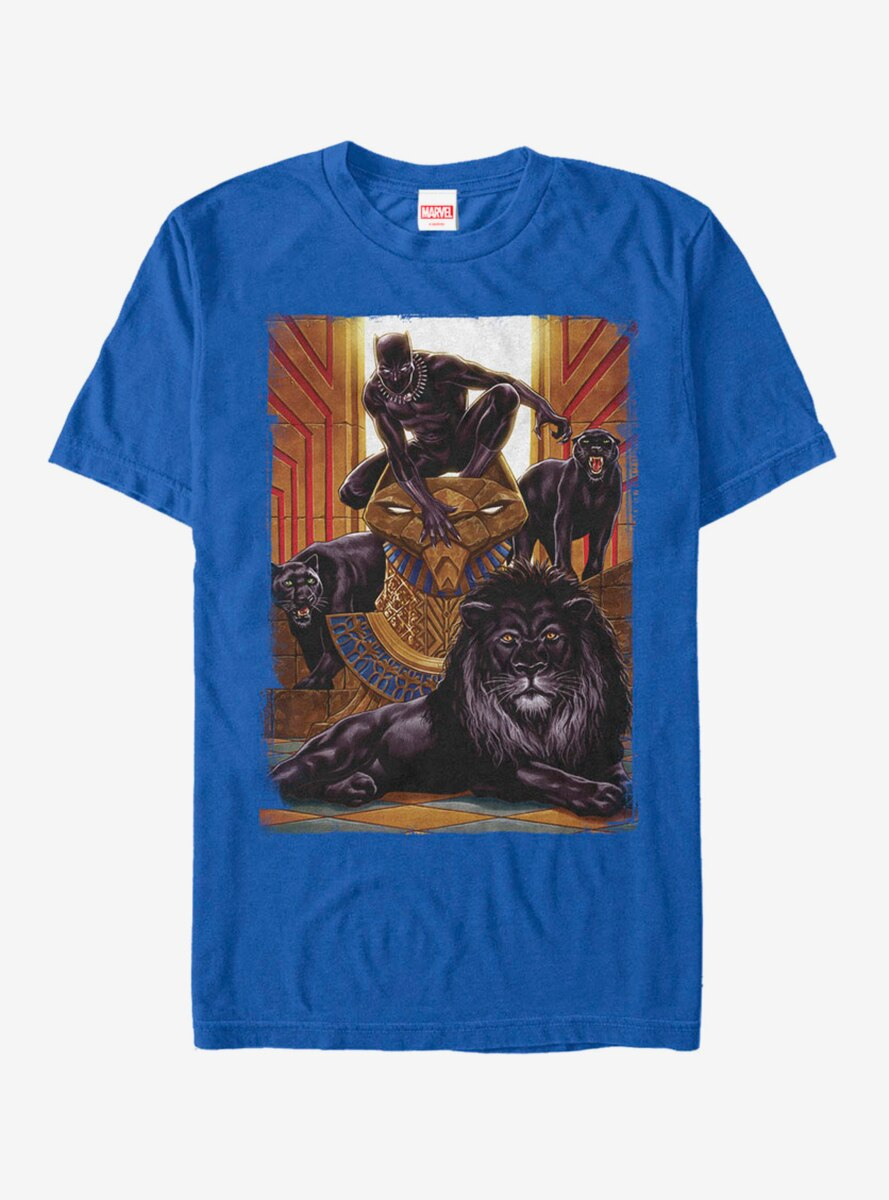 Marvel Black Panther Jungle Cats T-Shirt
