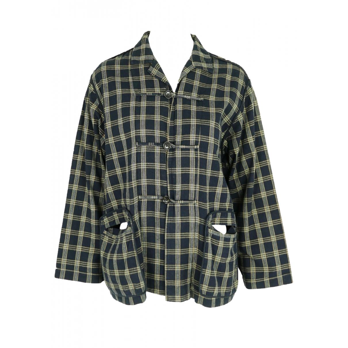 Comme Des Garcons \N Navy Cotton jacket for Women M International