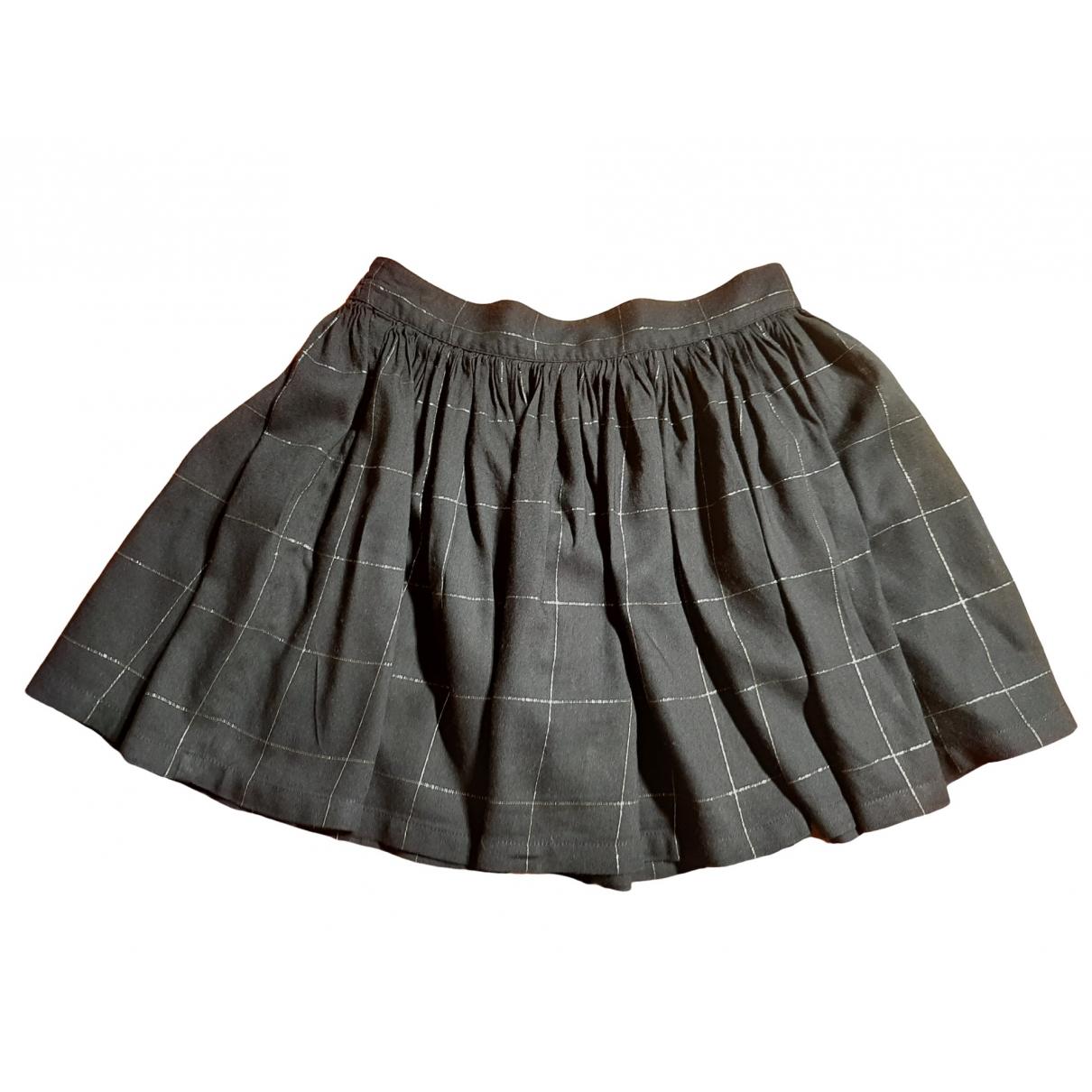 Bonton \N Black Cotton skirt for Kids 10 years - up to 142cm FR