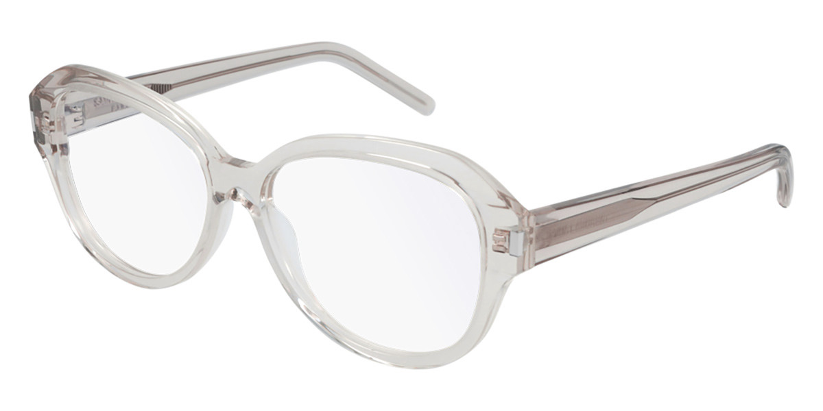 Saint Laurent SL 411 004 Men's Glasses Grey Size 57 - Free Lenses - HSA/FSA Insurance - Blue Light Block Available
