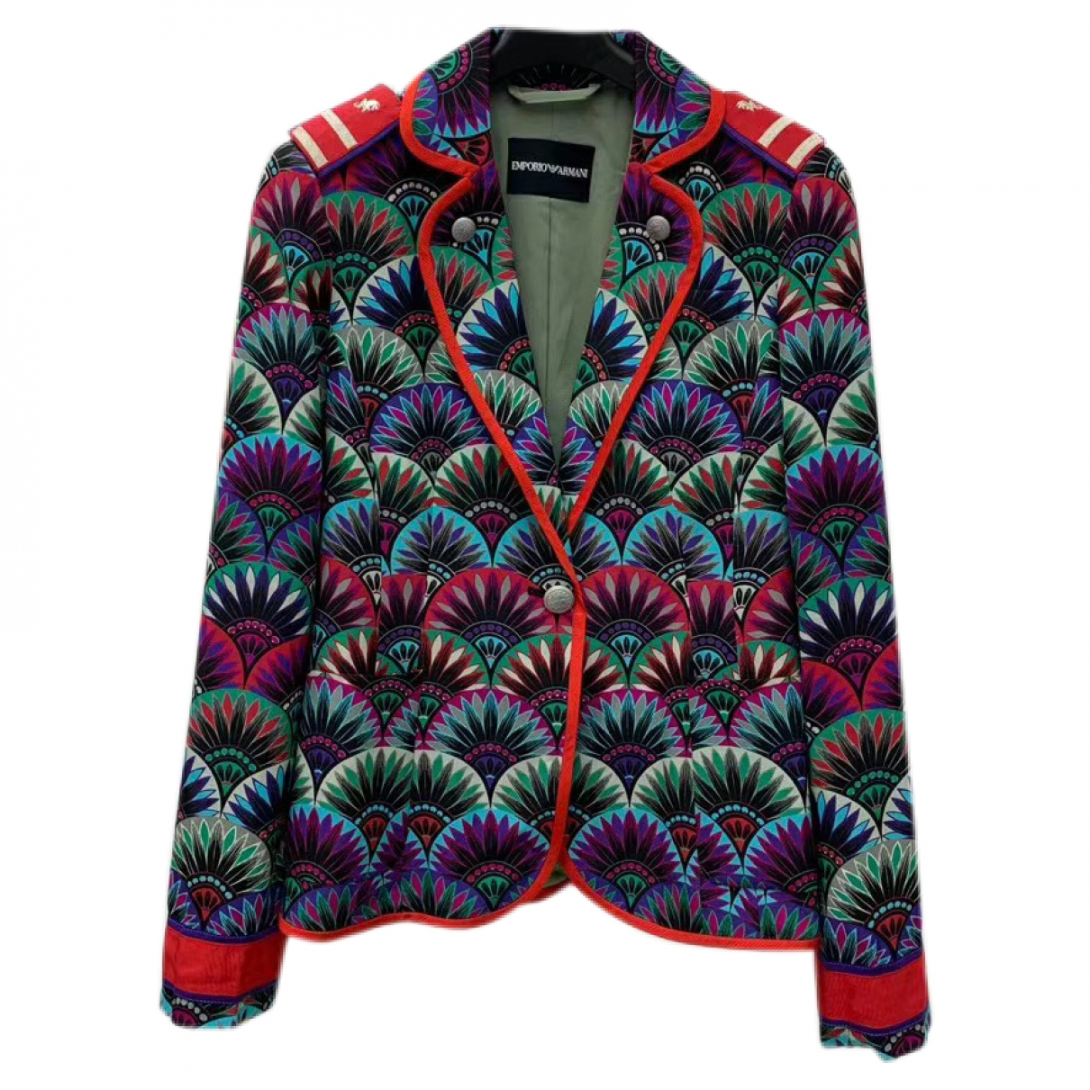 Emporio Armani \N Multicolour jacket for Women 36 FR