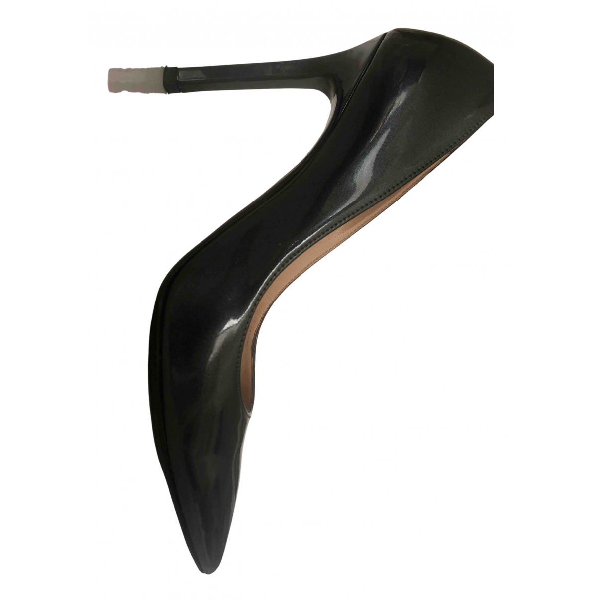 Roberto Festa \N Pumps in  Grau Lackleder