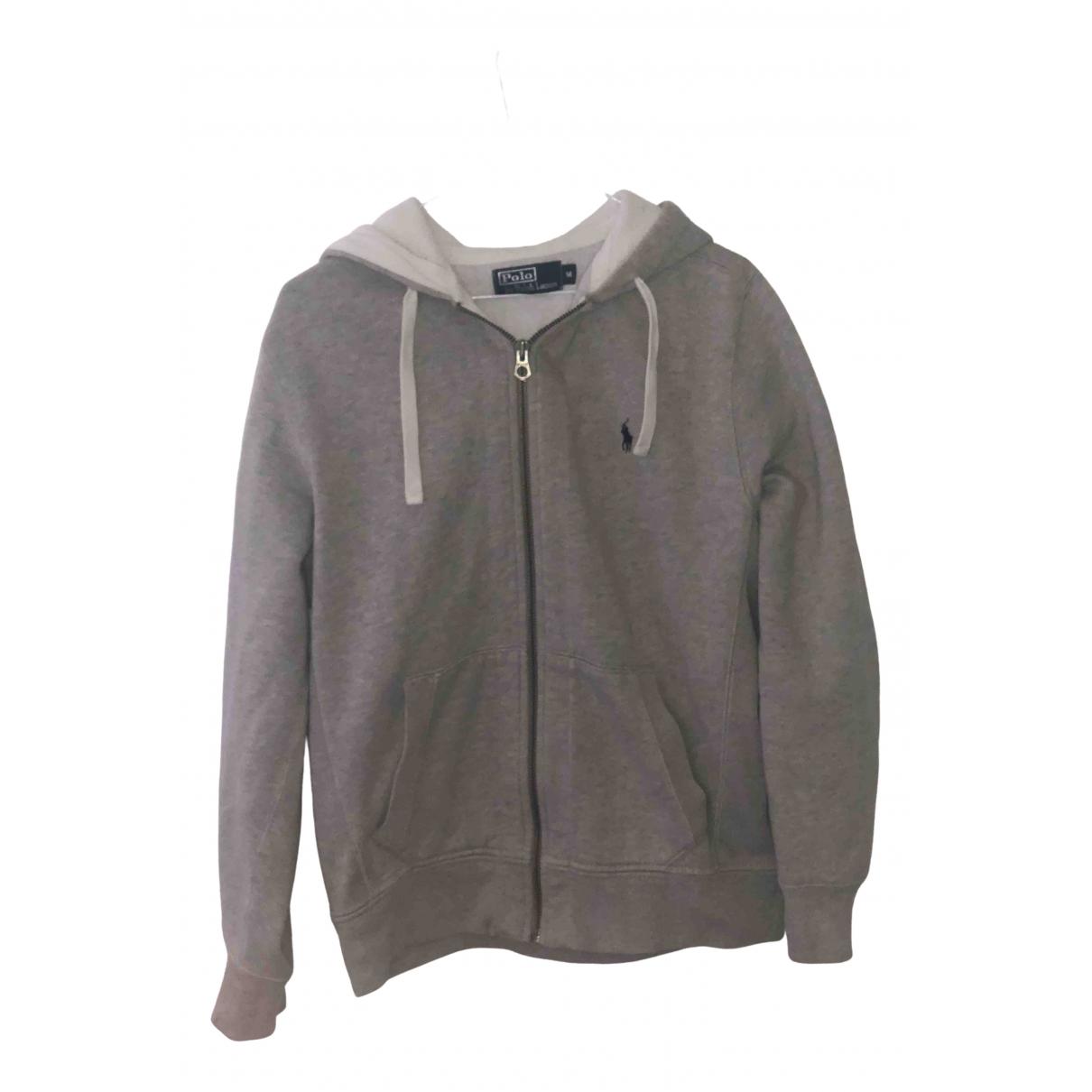 Polo Ralph Lauren \N Pullover in  Grau Baumwolle