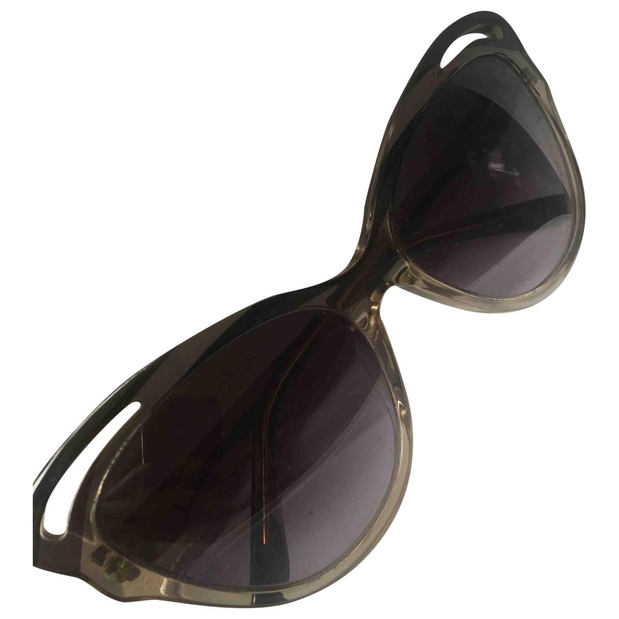Emilio Pucci \N Sonnenbrillen in  Grau Kunststoff