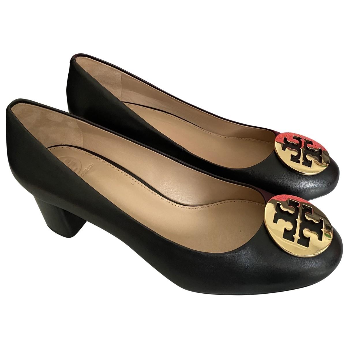 Tory Burch - Escarpins   pour femme en cuir - noir