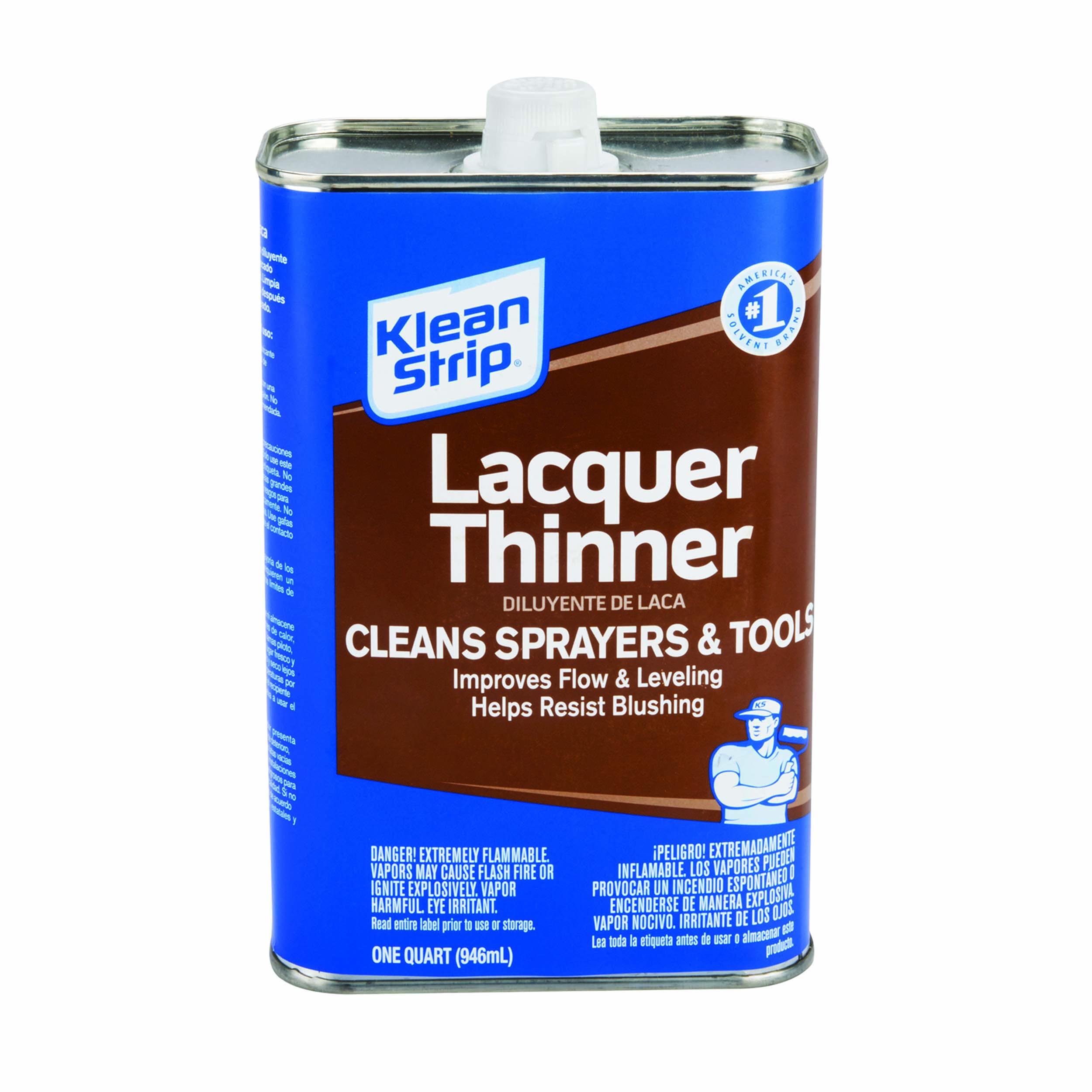 Solvent Lacquer Thinner Quart