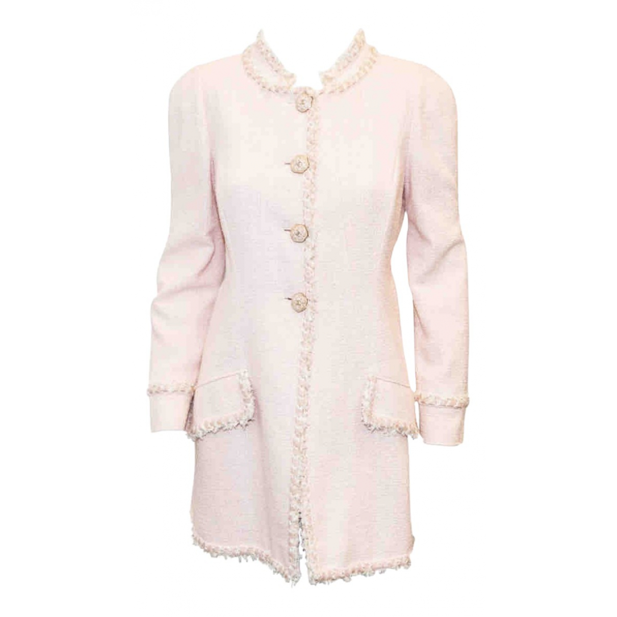 Chanel \N Pink Cotton coat for Women 40 FR