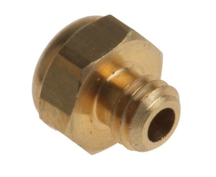 Legris 0673 Brass, Sintered Bronze 12bar Pneumatic Silencer, Threaded, M5 x 0.8 Male (10)
