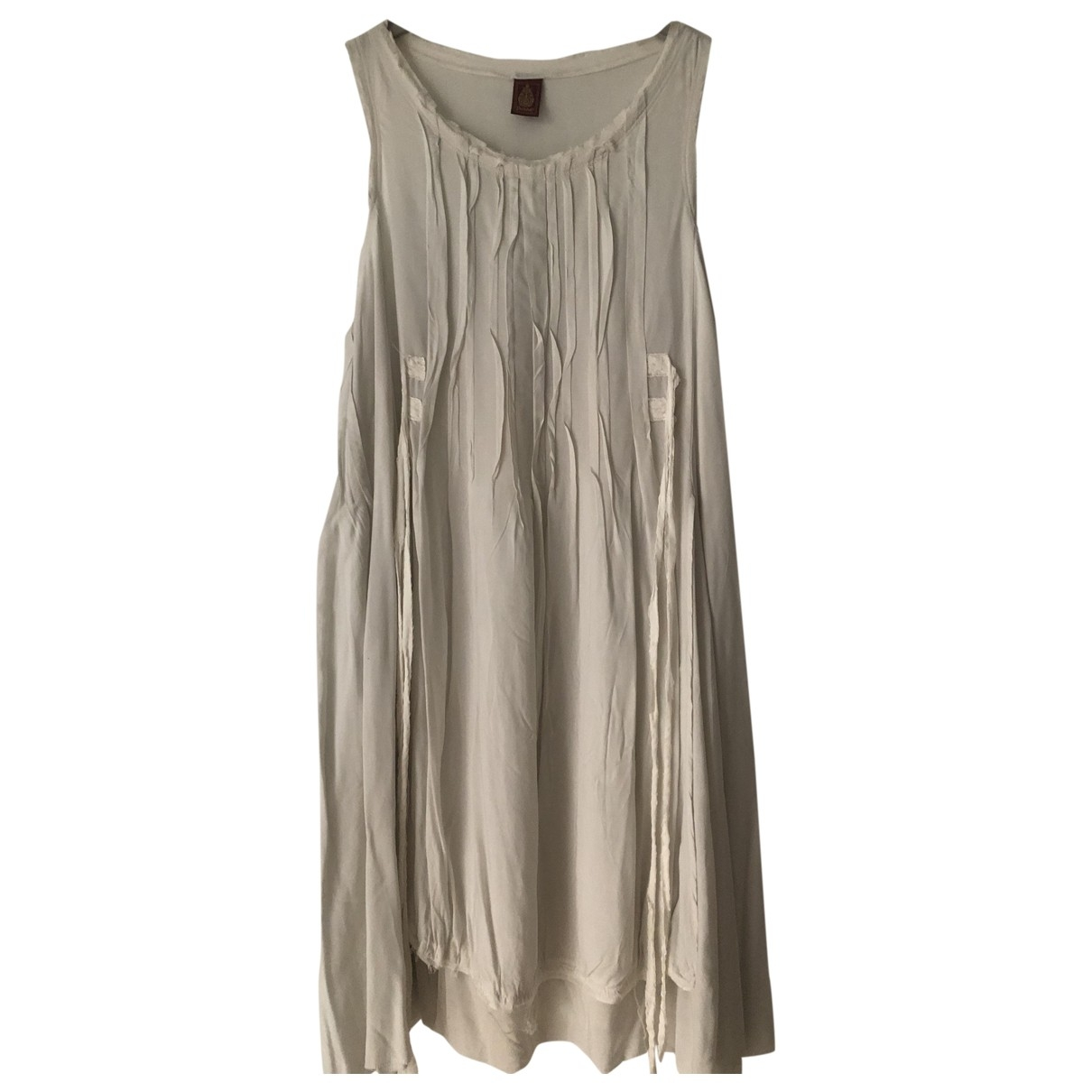 Dondup \N White dress for Women 42 IT