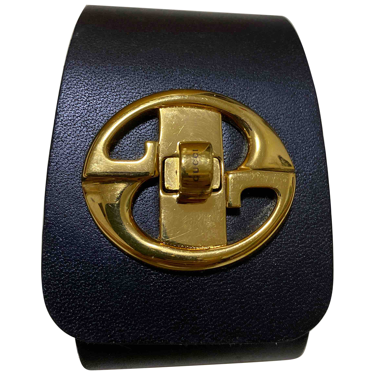 Gucci \N Black Leather bracelet for Women \N