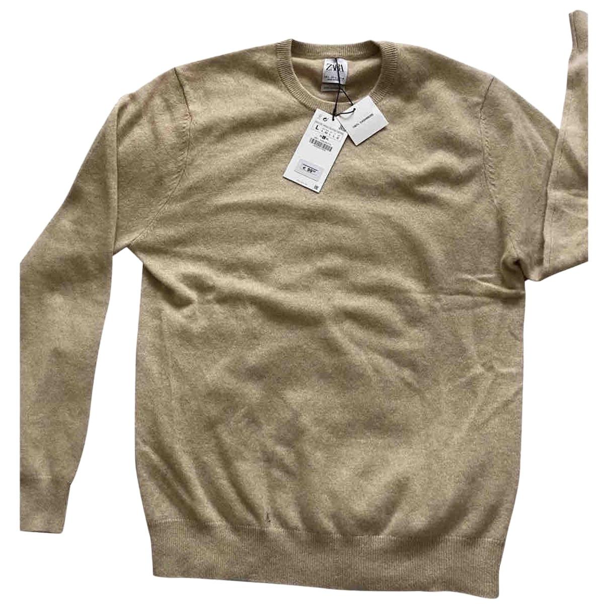 Zara \N Pullover.Westen.Sweatshirts  in  Braun Kaschmir