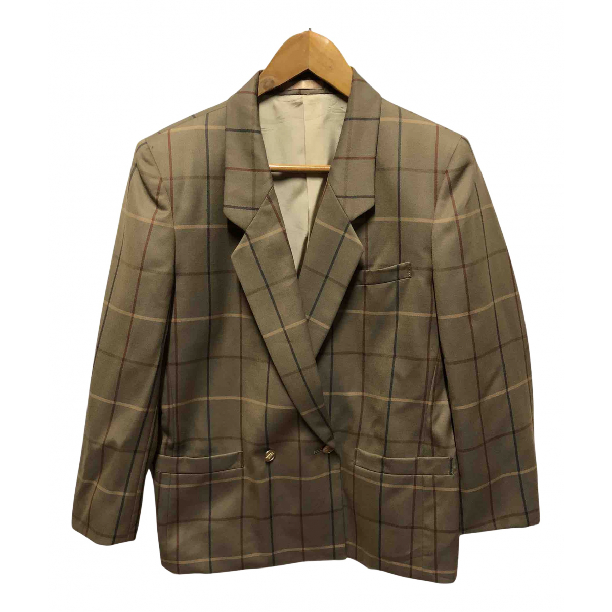 Burberry N Beige Cotton jacket  for Men M International