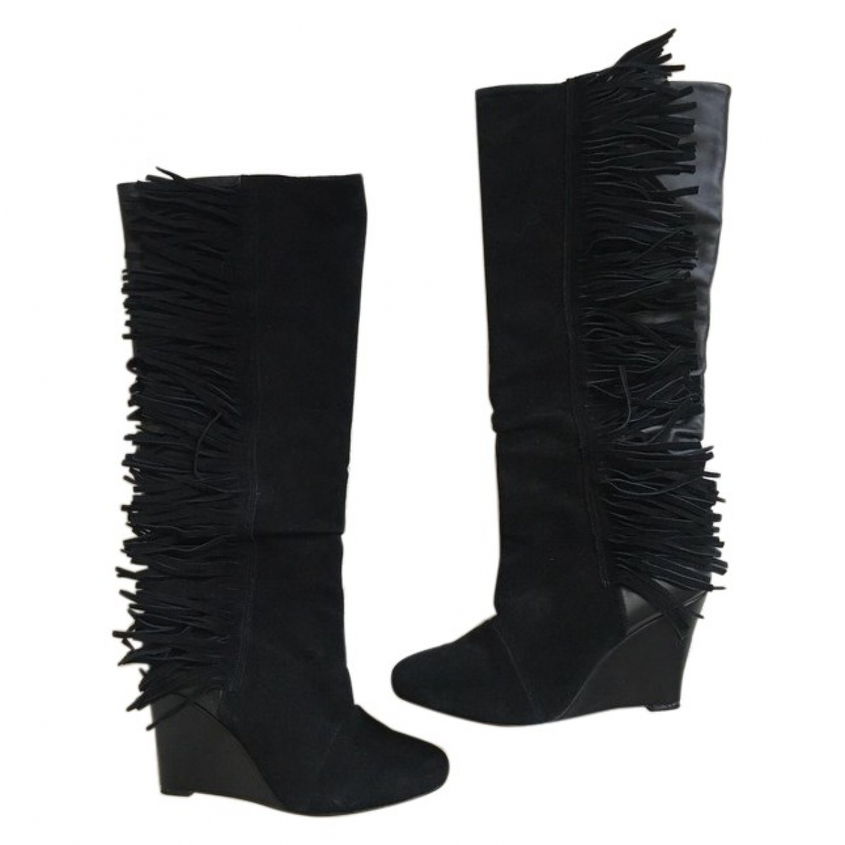 Isabel Marant \N Black Leather Boots for Women 41 EU