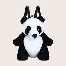 Maedchen Rucksack in Pandaform