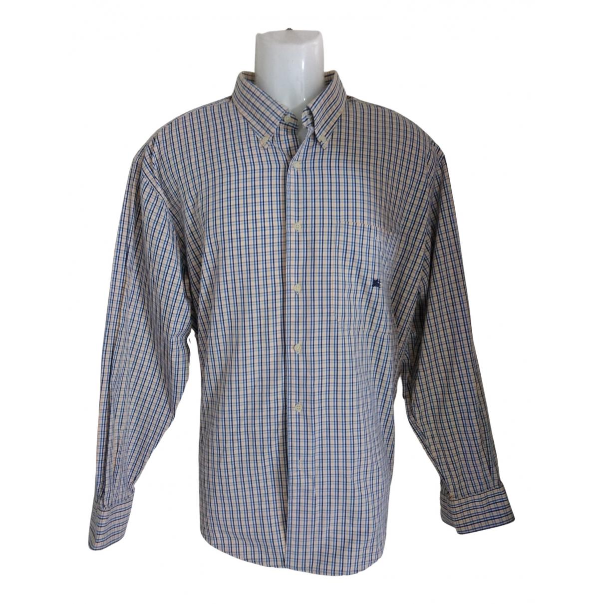 Burberry \N Multicolour Cotton Shirts for Men XL International