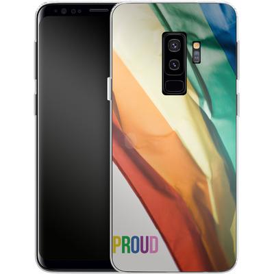 Samsung Galaxy S9 Plus Silikon Handyhuelle - Rainbow Flag von caseable Designs