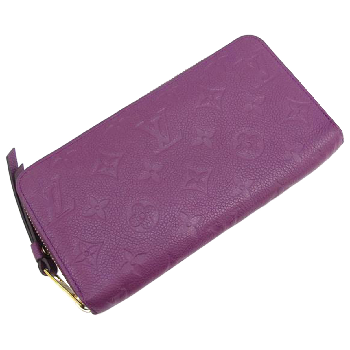 Louis Vuitton N Purple Leather wallet for Women N