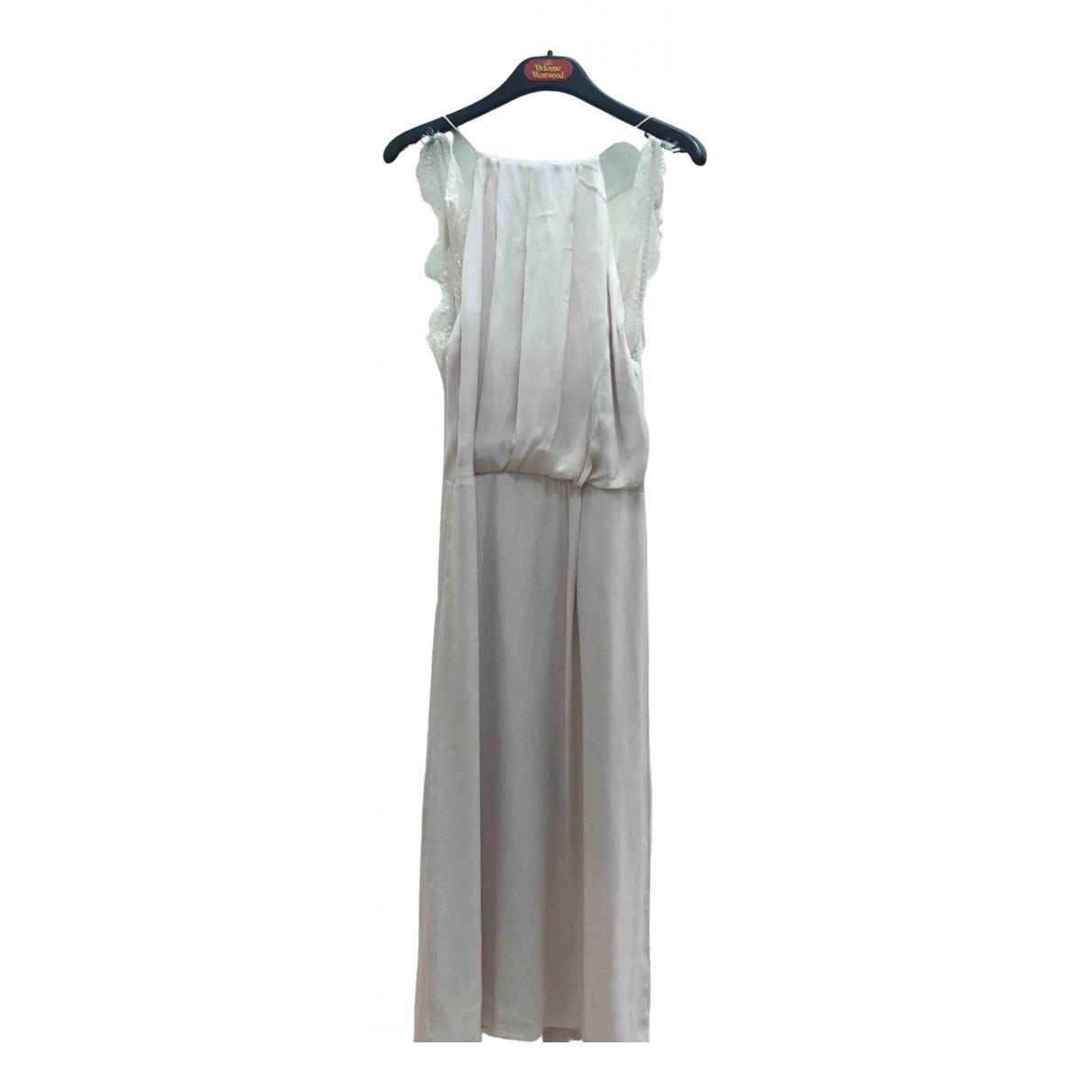 Samsoe & Samsoe \N Kleid in  Rosa Polyester