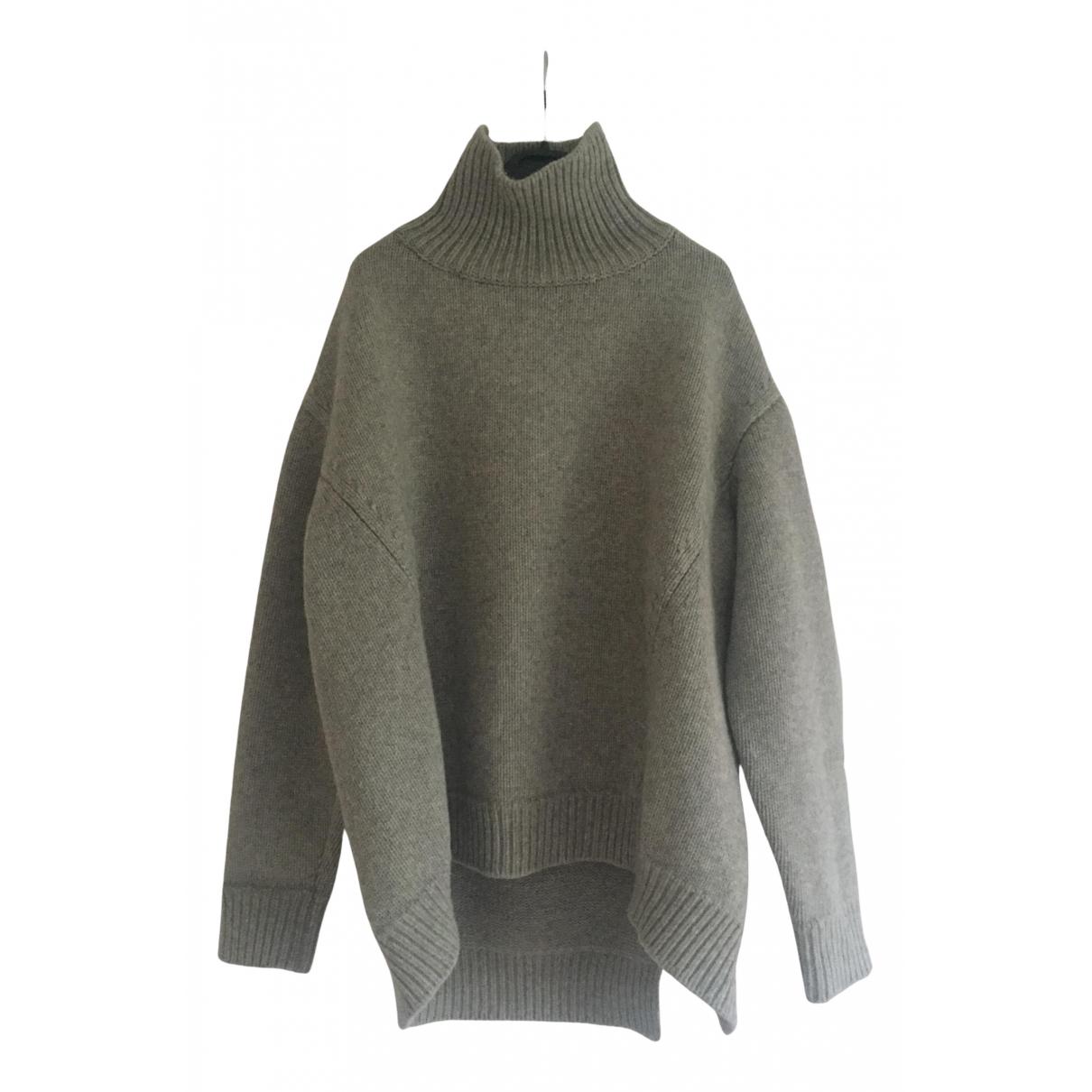 Celine - Pull   pour femme en laine - gris