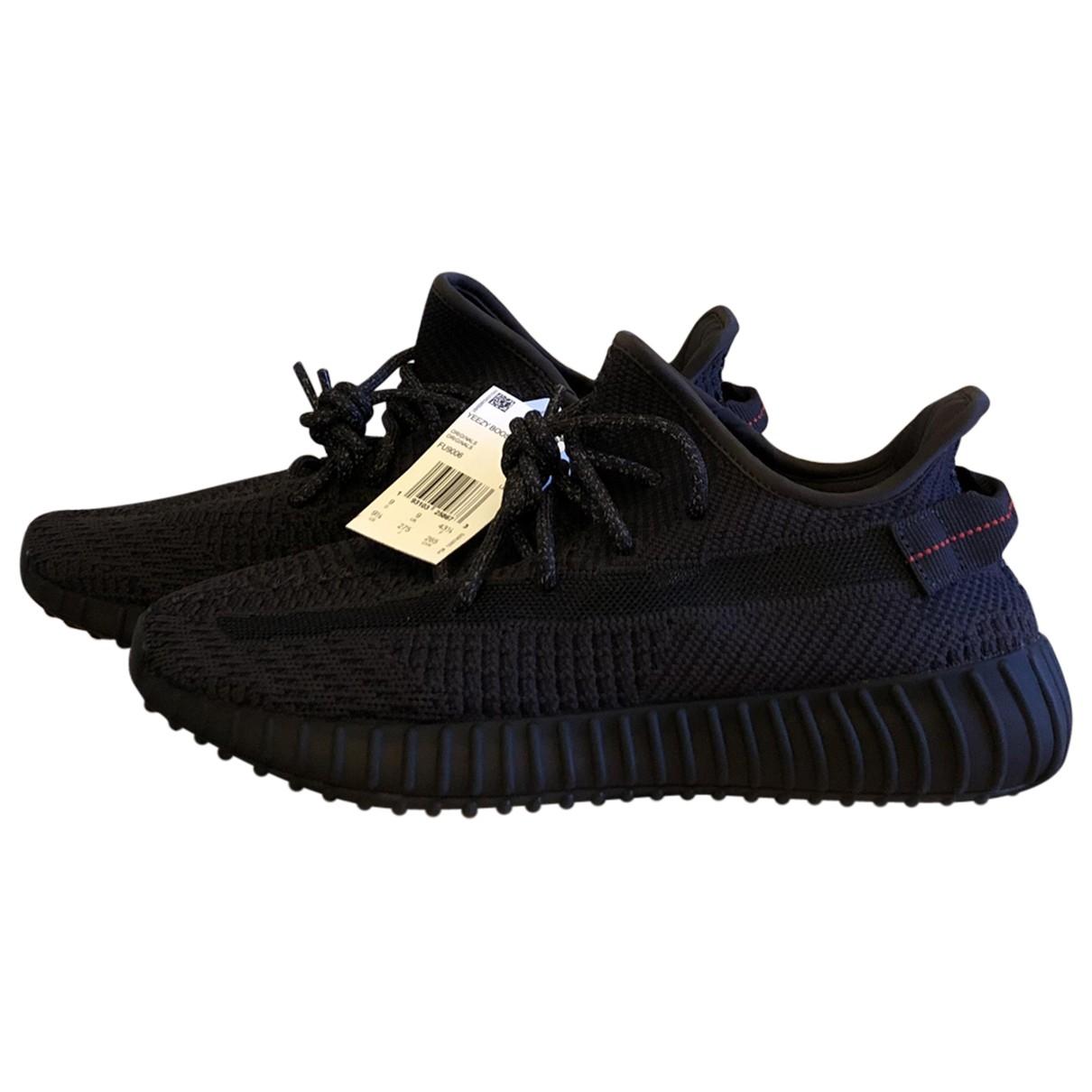 Yeezy X Adidas - Baskets   pour homme en toile - noir