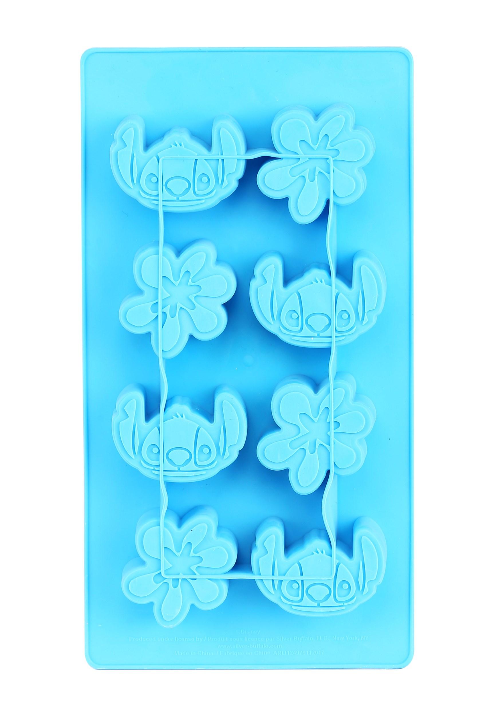 Lilo and Stitch Ice Cube Tray w/ Flowers