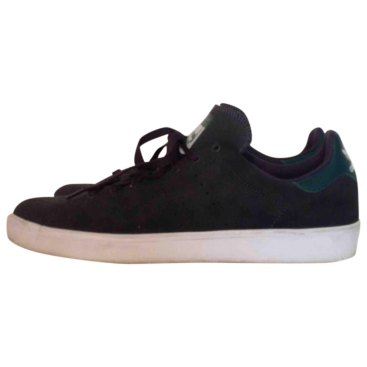Adidas Stan Smith Black Leather Trainers for Men 42 EU