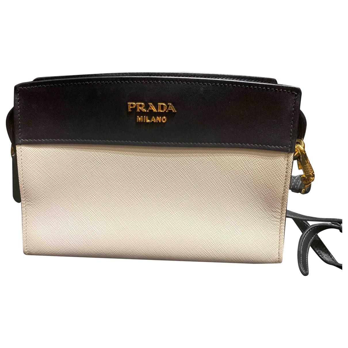 Prada - Sac a main Esplanade pour femme en cuir - blanc