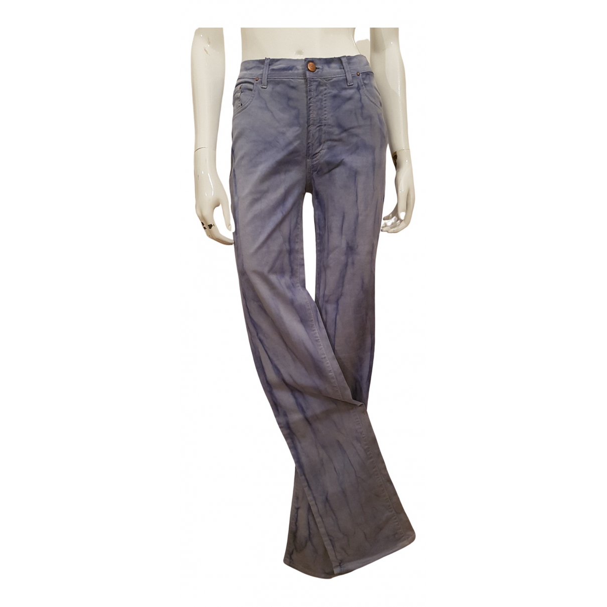 Just Cavalli \N Blue Denim - Jeans Trousers for Women 42 IT