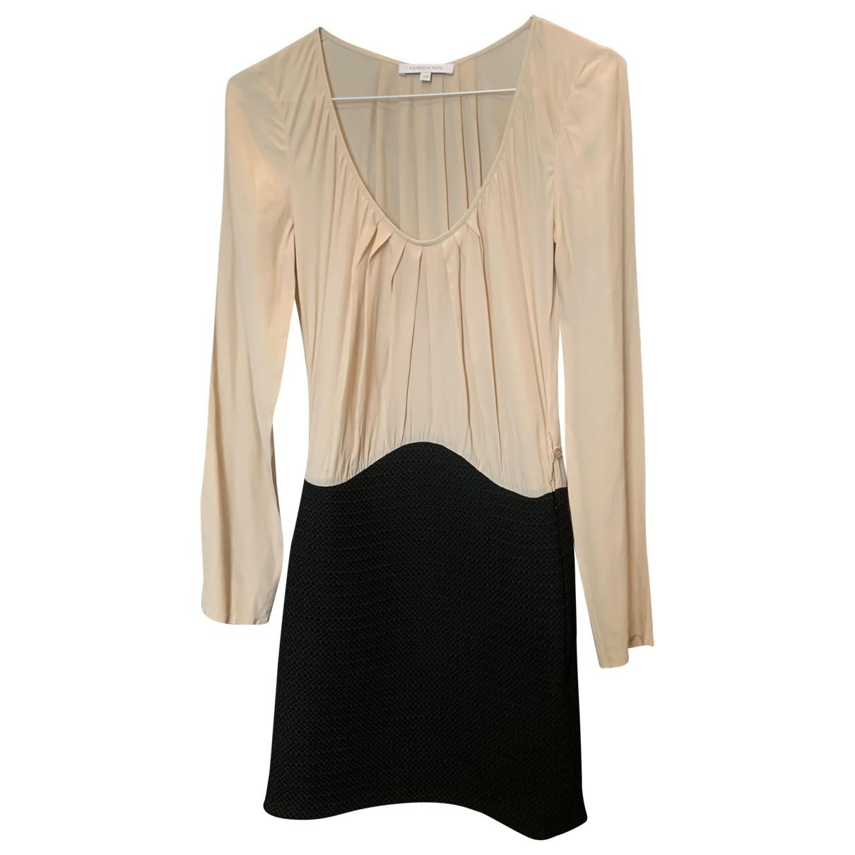 Patrizia Pepe \N Beige dress for Women 38 IT