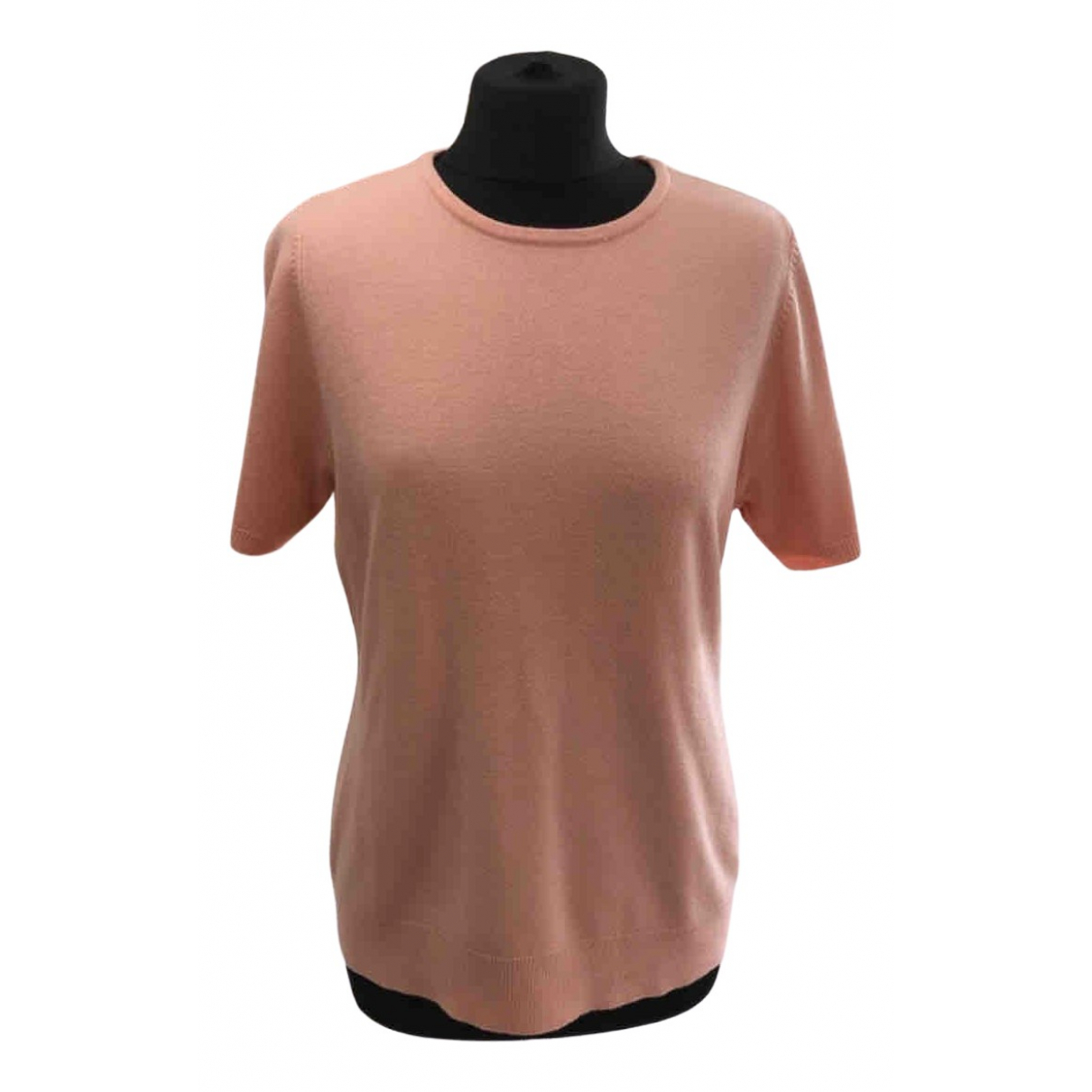 Non Signé / Unsigned \N Pink Wool Knitwear for Women 42 FR