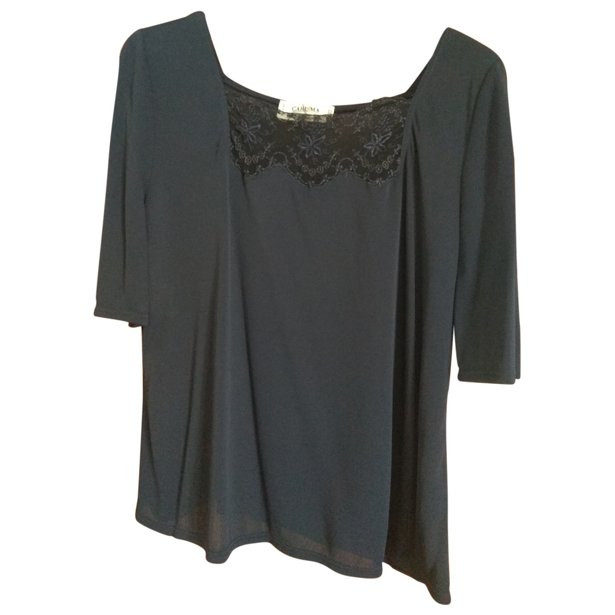 Non Signé / Unsigned \N Blue  top for Women 50-52 IT