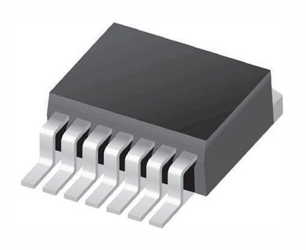 Texas Instruments LM2598S-ADJ/NOPB, 1-Channel, Step Down DC-DC Converter, Adjustable 7-Pin, TO-263