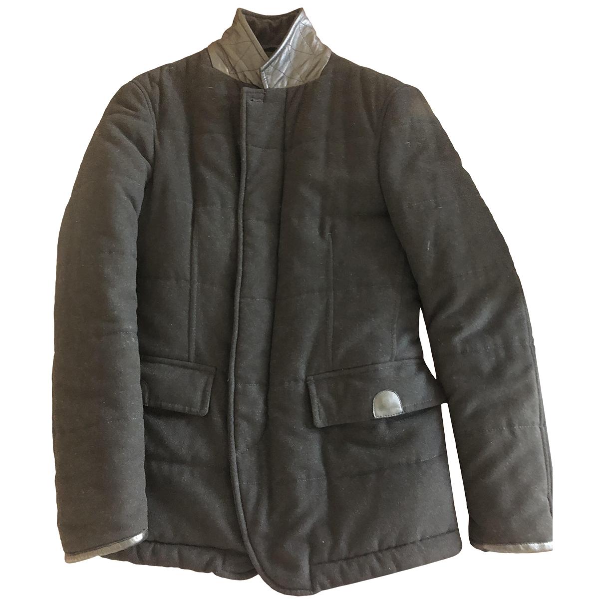 Giorgio Armani \N Jacke in  Schwarz Wolle