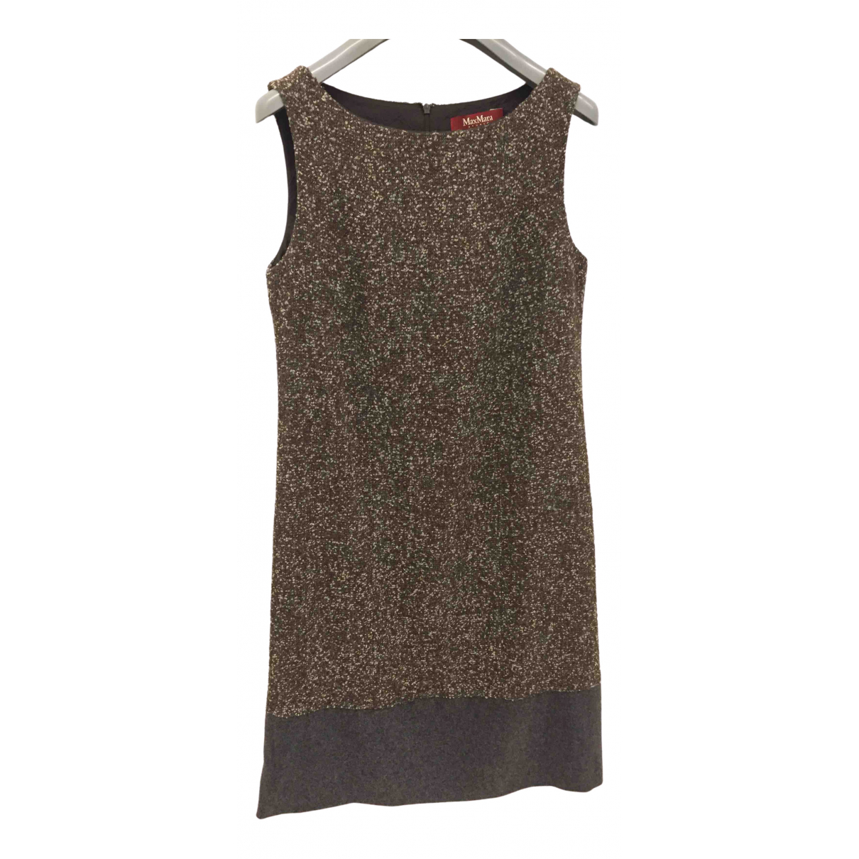 Max Mara Studio \N Multicolour Wool dress for Women 42 IT