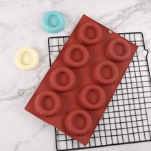 1pc 8 Grid Silicone Chocolate Mold