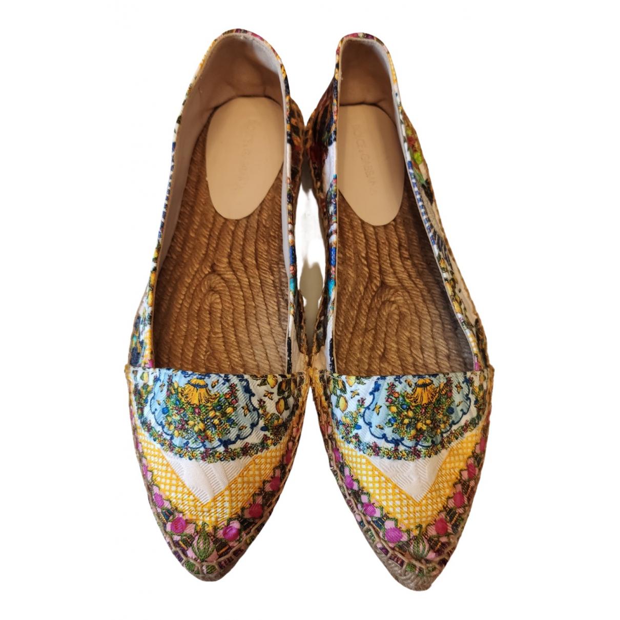 Dolce & Gabbana \N Espadrilles in  Bunt Leder
