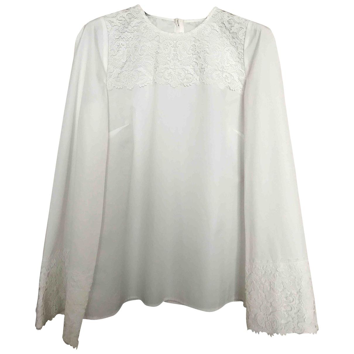 Dolce & Gabbana \N Top in  Weiss Baumwolle