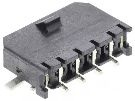 Molex , Micro-Fit 3.0, 43650, 4 Way, 1 Row, Right Angle PCB Header (5)