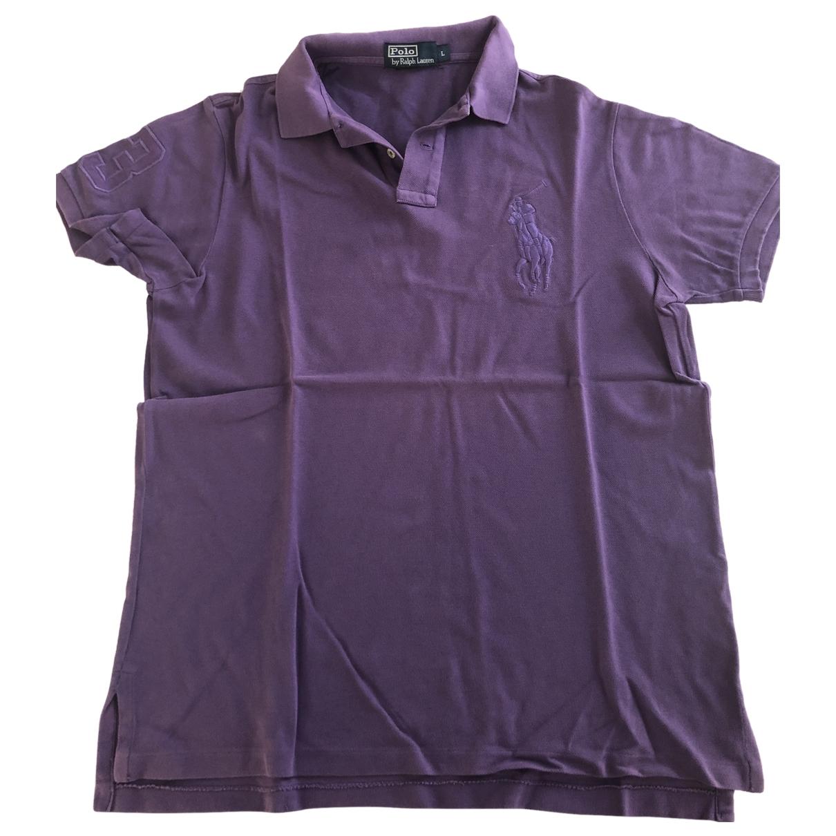 Polo Ralph Lauren - Polos   pour homme en coton - violet