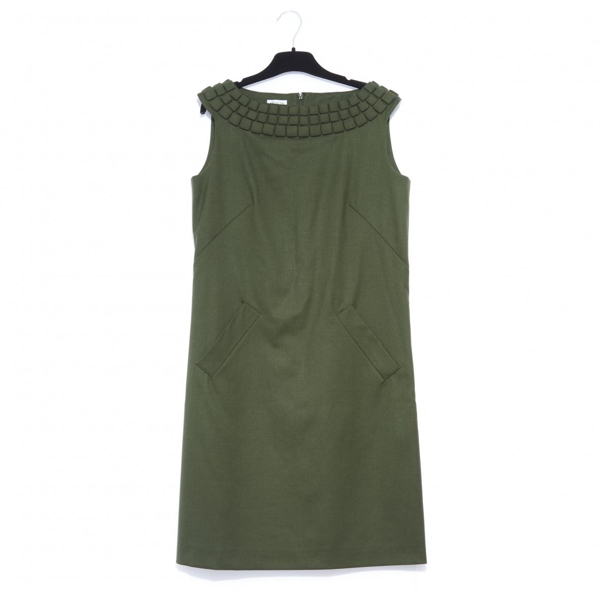 Philosophy Di Alberta Ferretti \N Green Wool dress for Women 40 FR