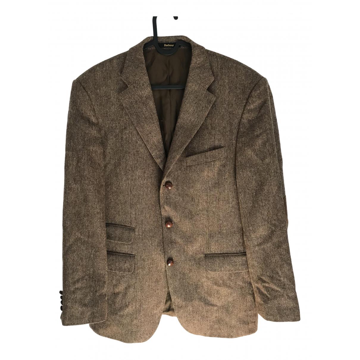 Barbour - Vestes.Blousons   pour homme en laine - marron