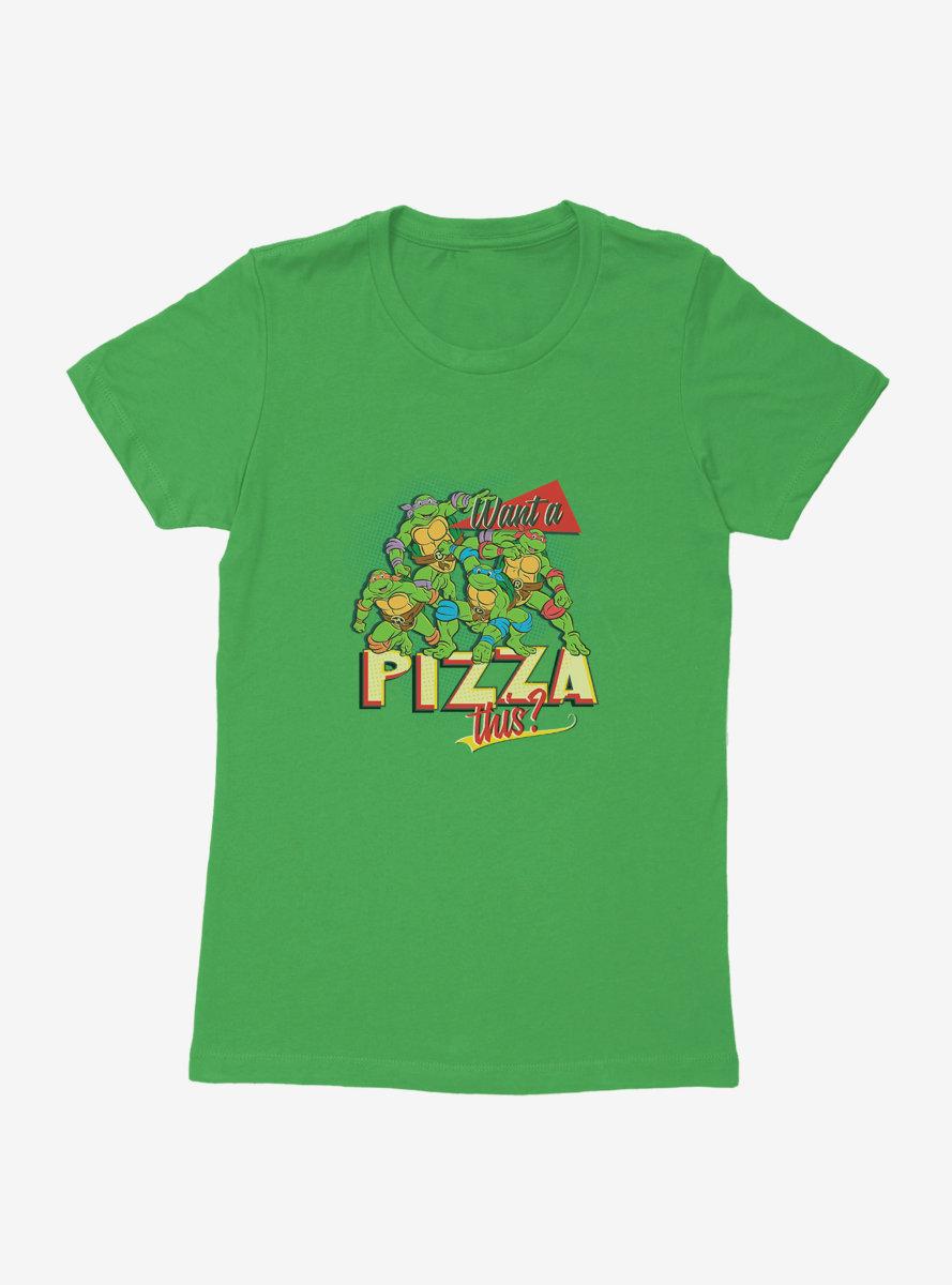 Teenage Mutant Ninja Turtles Pizza This Womens T-Shirt