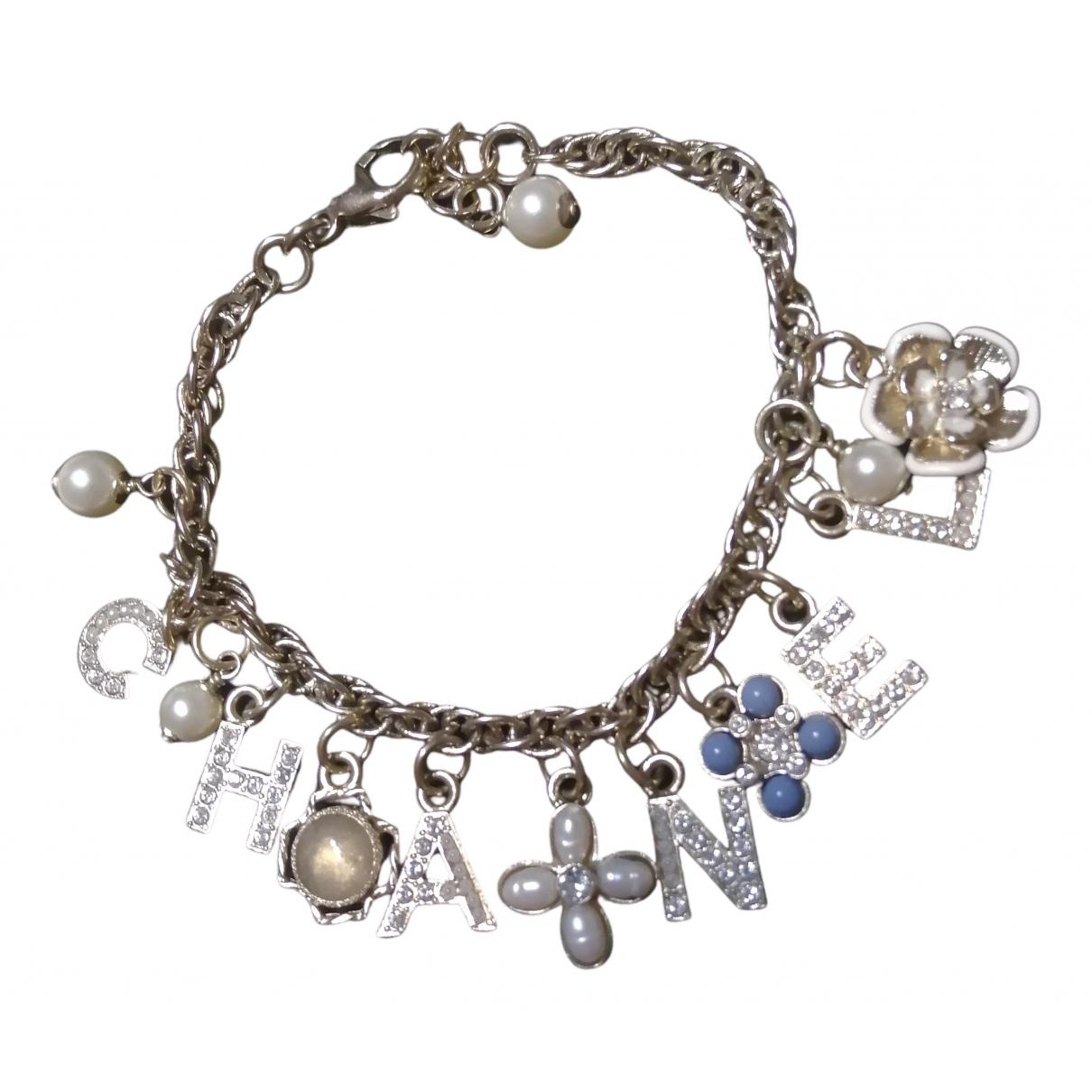 Chanel CHANEL Armband in  Metallic Metall