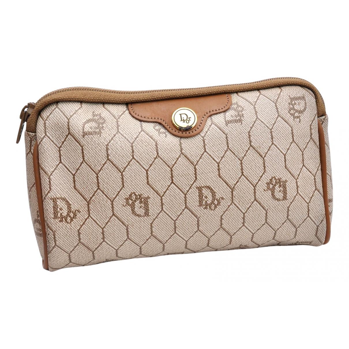 Dior \N Beige Leather Clutch bag for Women \N