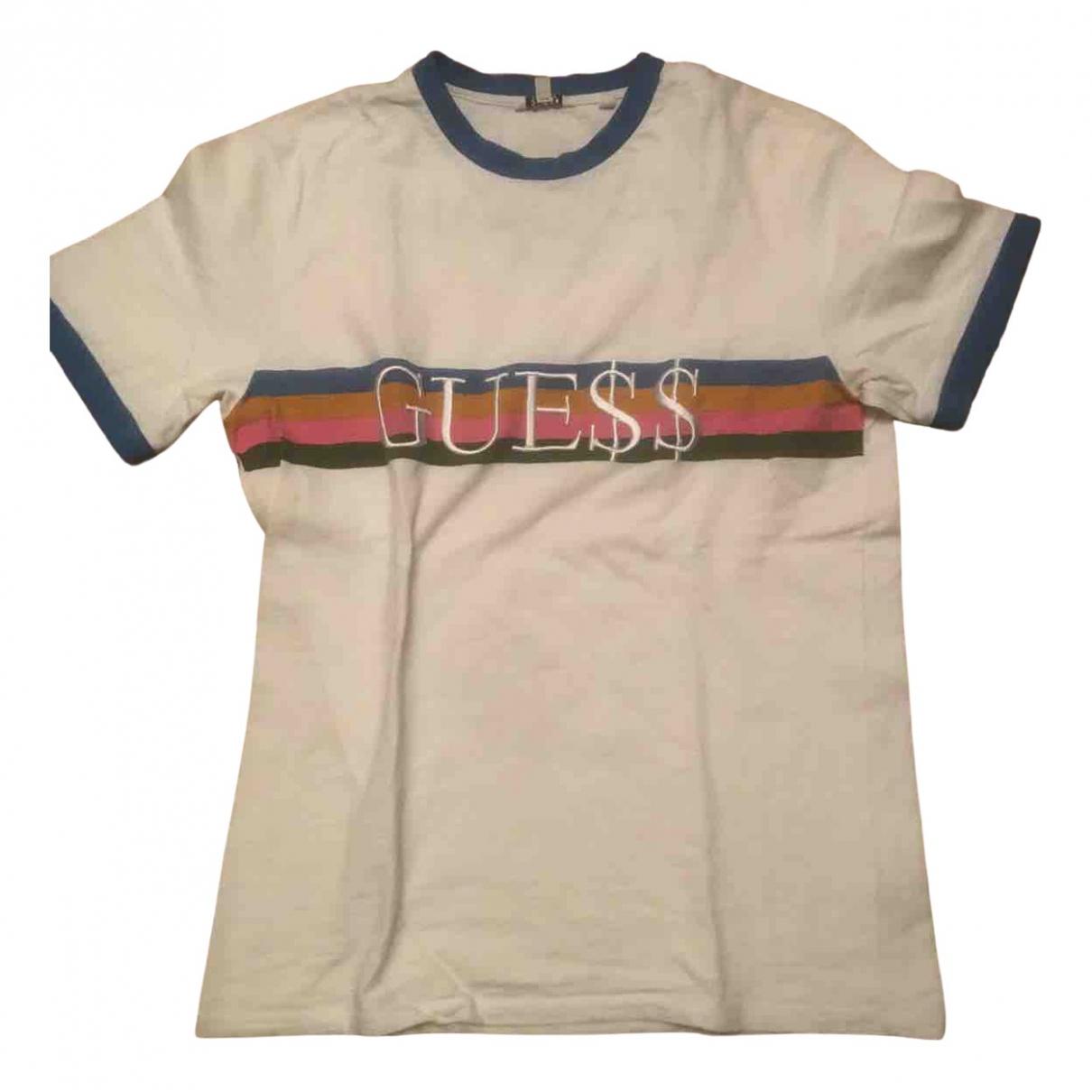 Guess - Tee shirts   pour homme en coton - multicolore